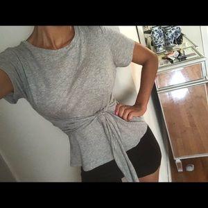 Tops - Rachel Roy grey top